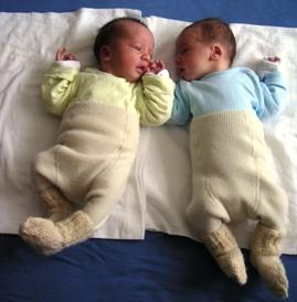 Dvynių žindymas