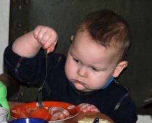 Vaikiškos tyrelės su mėsa