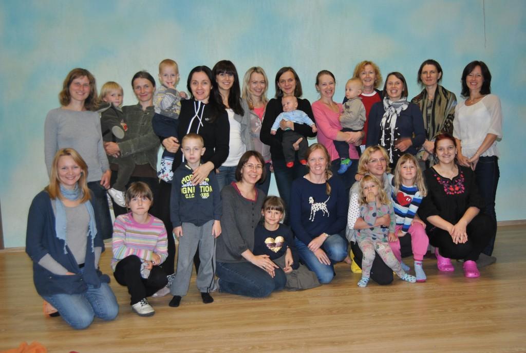 Žindymo kursai mama-mamai savanorėms