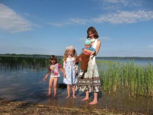 Simona su vaikais-min